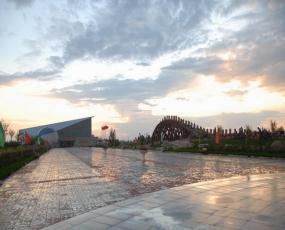 恐龙主题公园的建设