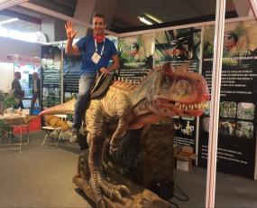 IAAPA展会 仿真恐龙展示