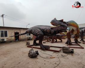 大型仿真恐龙_8米角鼻龙