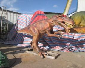 棘背龙 恐龙租赁 仿真恐龙出售 恐龙展览