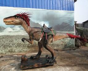 骑乘恐爪龙 骑乘恐龙 恐龙租赁 仿真恐龙出售 恐龙展览