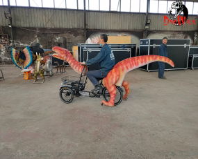恐龙公司制作_恐龙自行车