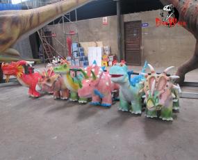 三角龙恐龙小车_适合儿童娱乐