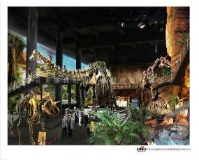 恐龙博物馆 恐龙展览效果图设计欣赏