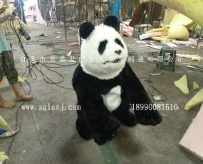 熊猫衣服 互动服装