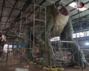 仿真恐龙在安装时都有那些注意事项   尤其大型恐龙尤为注重