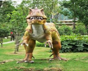 房地房楼盘开发宣传周边公园恐龙展览