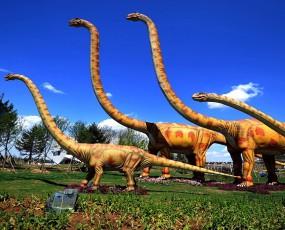 锦州世博园恐龙展览